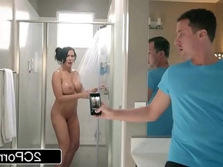shower   son   stepfamily