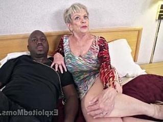 big tits  black cock  creampie
