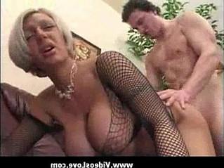 aunty  big tits  hardcore