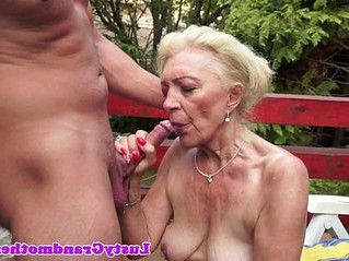 banged   mature   old and young