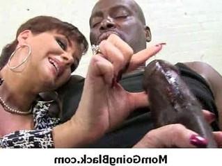 black  mommy  monster cock