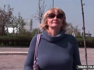 blonde  gilf  young