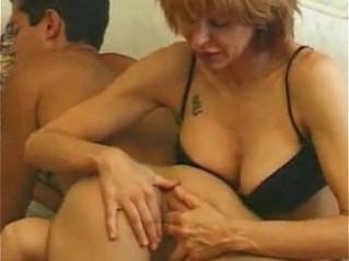 fingering  mommy  son